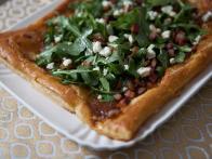 Fig Tart with Bacon and Blue Cheese