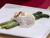 Roasted Asparagus with Poached Egg and Parmigiano-Reggiano