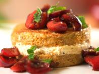 Stuffed French Toast with Cherry Salsa