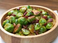 Balsamic Glazed Brussels Sprouts with Pancetta