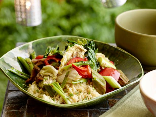 Grilled Asian Vegetable Couscous