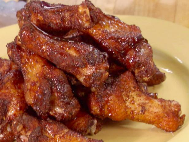 Jerk Wings with Rum-Brown Sugar Glaze