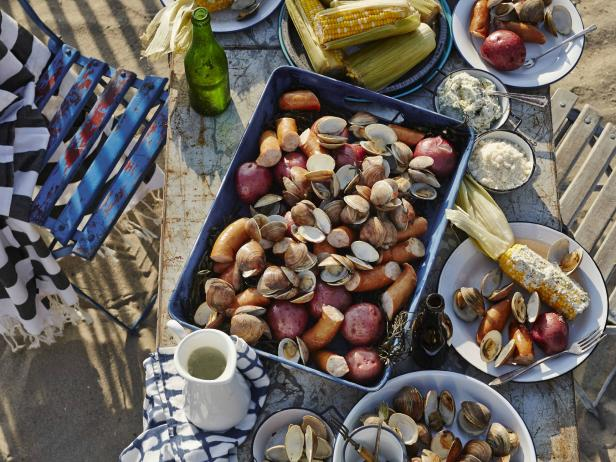 Clam Bake on the Beach