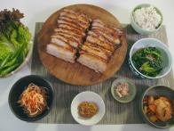 Korean Roasted Pork Belly Bossam