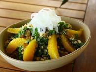 Kale and Macadamia Nut Salad