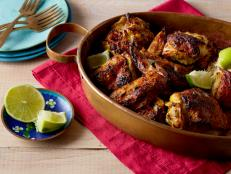 Cooking Channel serves up this Tandoori Chicken recipe from Bal Arneson plus many other recipes at CookingChannelTV.com
