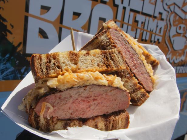 The Ultima Pastrami Burger