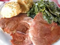 Virginia Country Ham Steaks with Redeye Gravy