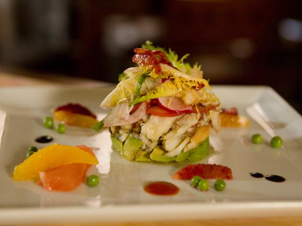 Gulf Crab with Avocado and Citrus Compote