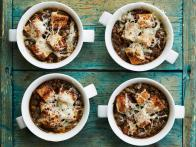 Lentil and Caramelized Onion Soup