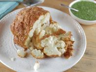 Whole Roasted Tandoori Cauliflower with Spiced Yogurt