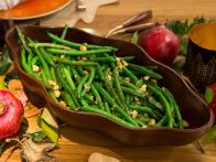 Brown Butter Green Beans with Hazelnuts
