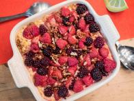 Oatmeal-Berry Cobbler
