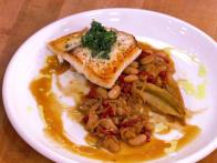 Halibut with Endive and Gremolata
