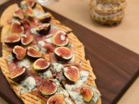 Fig, Prosciutto and Blue Cheese Pizza