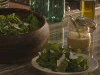 Arugula and Ricotta Salata Salad with Dijon Vinaigrette