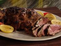 Grilled Leg of Lamb