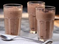 Banana Chocolate Almond Milk-less Milkshake