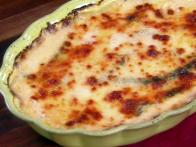 Potato and Poblano Gratin