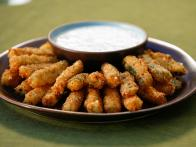 Crispy Zucchini Fries with Buttermilk Ranch...