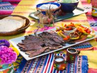 Citrus-Marinated Beef Fajitas