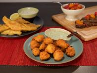 Hush Puppies with Herb Mayo