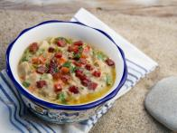 Super-Tuscan Clam Chowder
