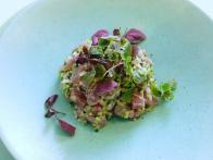Spiced Tuna Tartare