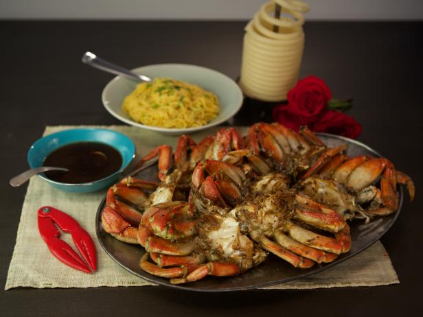 Roasted Cracked Crab