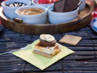 Campfire S'mores with Homemade Marshmallows