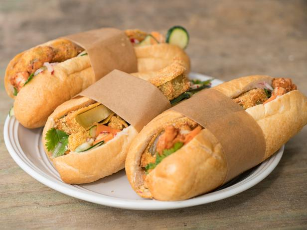 New Orleans Banh Mi Po' Boys