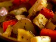 Roasted Vegetables in 1 Minute