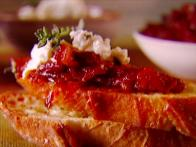 Sun-Dried Tomato Jam Crostini
