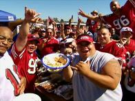 San Francisco 49er Tailgating
