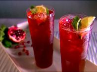 Virgin Pom-Cranberry Bellinis