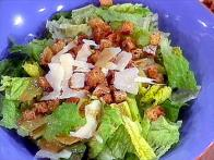 Low Fat Caesar Salad
