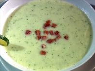 Honeydew Soup With Ham