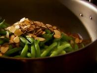 Green Beans, Onions & Almonds