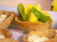 Kiwi and Mango Tartlets