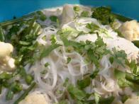 Rice Noodles in Coconut Broth
