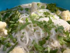 Cooking Channel serves up this Vegetables and Rice Noodles in a Coconut Broth recipe from Anjum Anand plus many other recipes at CookingChannelTV.com