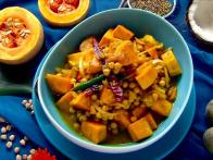 Squash With Chickpeas