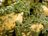 Punjabi Chicken With Spinach