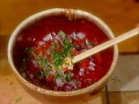 Pomegranate and Pepper Salsa