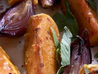 Roast Pumpkin & Honey Dressing