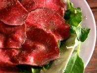 Steak Carpaccio Appetizer
