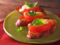 Incredible Baked Caprese Salad