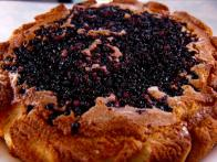 Cornmeal Huckleberry Cake