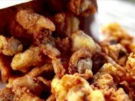 Fried Clam Bellies in Maine