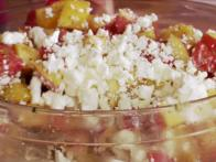 Kelsey's Peach and Feta Salad